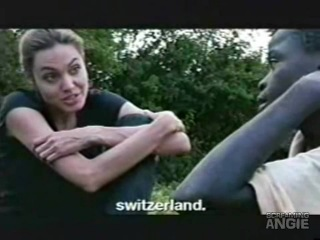 ANGELINA JOLIE'S DIARY WITH  SACHS IN AFRICA 1