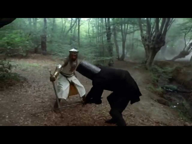 Black Knight Scene Monty Python and the Holy Grail