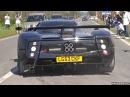 Supercars Leaving Cars Coffee Italy - MC12, Zonda, 675LT, Carrera GT More!