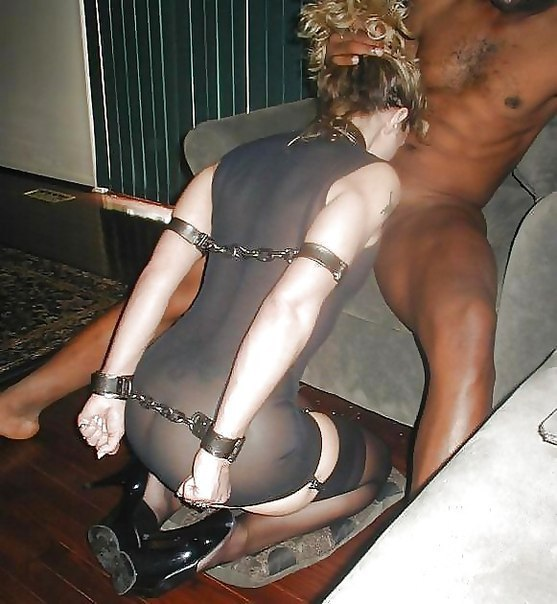 Submissive Wife For Big Black Cocks