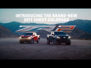 Brand-New 2017 Chevy Colorado ZR2 - The Ultimate Off-Road Adventure | Chevrolet