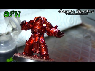 How to paint Thousand sons candy red