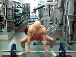 №168. Становая тяга в стиле сумо. Dead lift sumo style.
