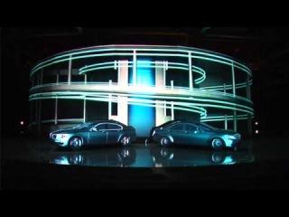 3D шоу на открытии автосалона (3D Mapping Show)