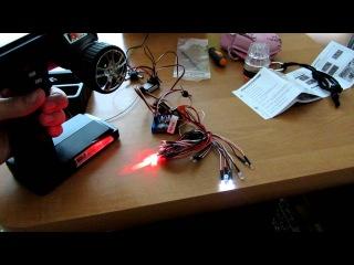 Hobbyking Scale Car LED Light system Система света для RC моделей