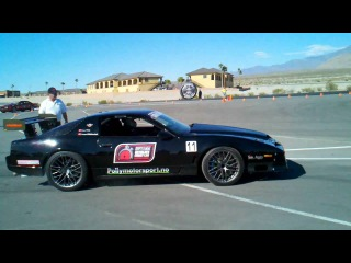 Polly 's 1400hp Trans Am on the track at the 2010 Optima Ultimate street invitational