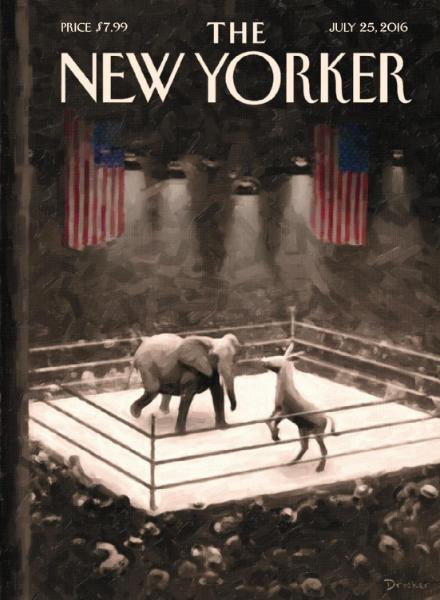 The New Yorker - 25 July 2016