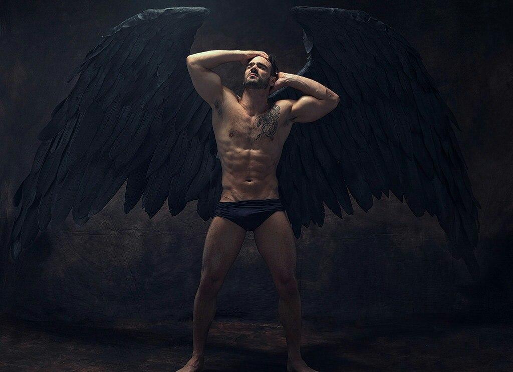 Marilyn monroe sexy angel wings men's