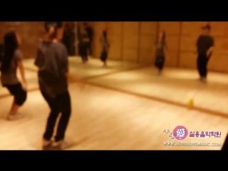 Practice dance lee chae ryong & lee chae yeon