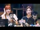 Лиса и Дженни на радио Jung YooMi's FM Date @ 10/07/17