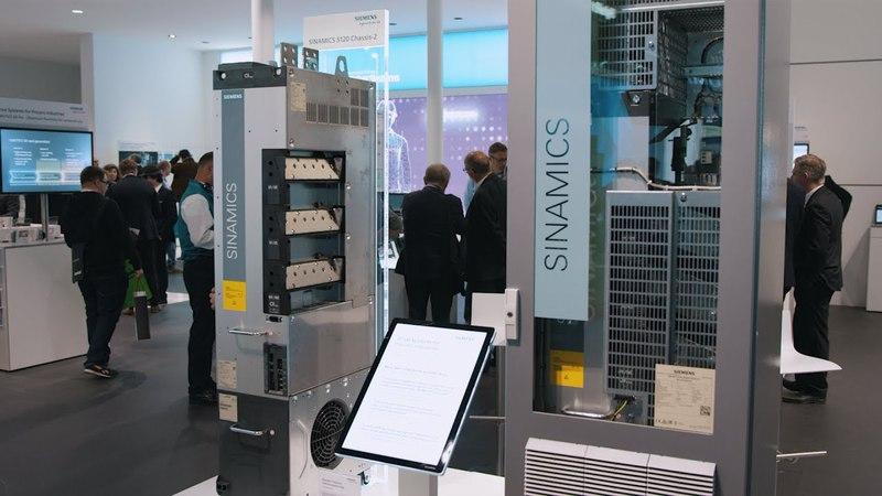 SINAMICS S120 Chassis 2 Cabinet Modules 2 Next gen in Flexibilität