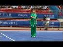 NANJING 2014 Wushu Tournament Women Qiangshu JPN Mirii Sato 佐藤未莉 9 23