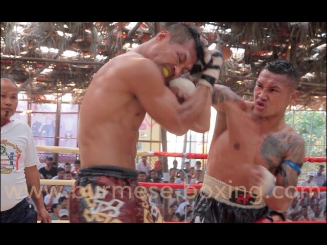Летвей Tha Pyay Nyo Kayin Mike Tyson нокаутировал Tun Tun Wazo