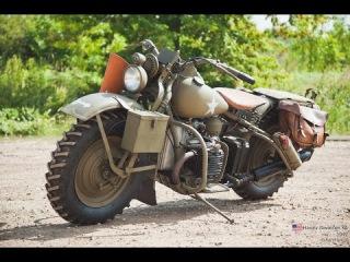 Мотоцикл - Harley-Davidson XA