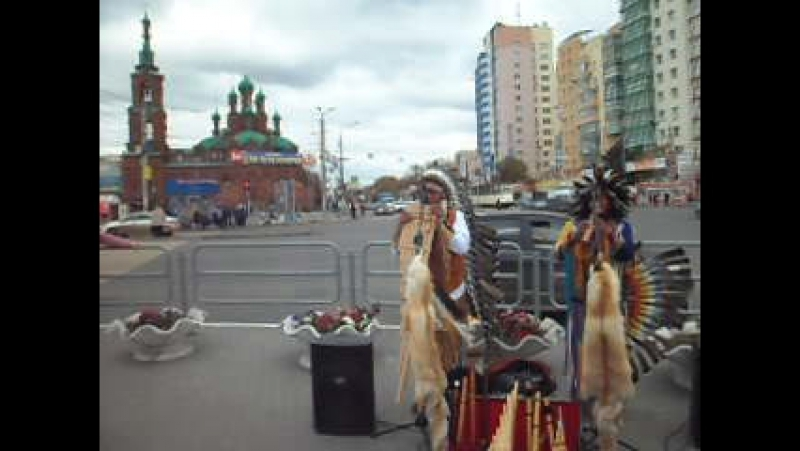 Музыка Анд Эквадор Yawar Huauqui Wayrapaq Moscuni в Челябинске 2015