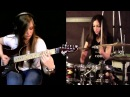 Tina S and Meytal Cohen Metallica cover Master of Puppets