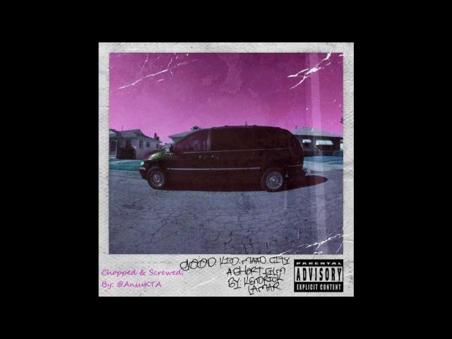 Kendrick Lamar Bitch Don't Kill My Vibe Chopped Screwed purple music