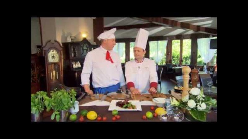 Rączka gotuje w Restauracji w Hotelu Dąbrówka