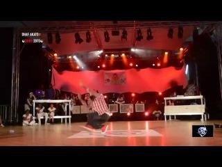 DEEZY VS DHAF AKATO SEMI FINAL DANCEHALL DA HIP HOP SHOW 2015