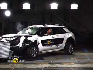 Euro NCAP Crash Test of Citroen C4 Cactus 2014