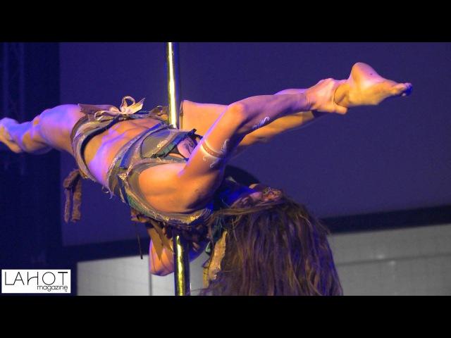 LA HOT Magazine Interviews Zoraya Judd Aerial Pole Dancer of Zen Arts