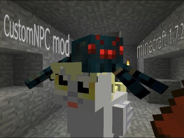 Minecraft Mods 1 CustomNPC