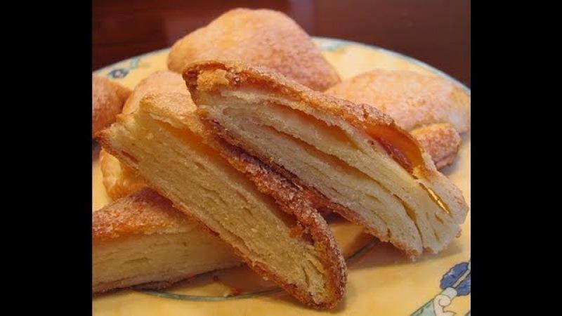 Творожное печенье Гусиные лапки
