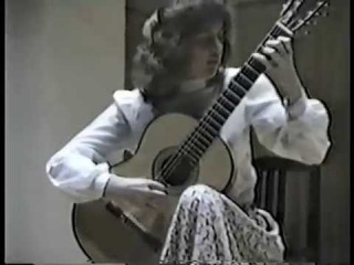 Rare Guitar Video: Nicola Hall plays Caprice No. 24 by Niccol Paganini