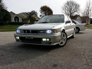 1989 Mitsubishi Galant VR4 E39A