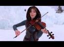 Lindsey Stirling Девушка во льдах очень красиво играет на скрипке