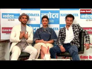 Spl & Exclusive interview with Team Ki Kill Dil | Ranveer Singh, Parineeti Chopra and Ali Zafar's