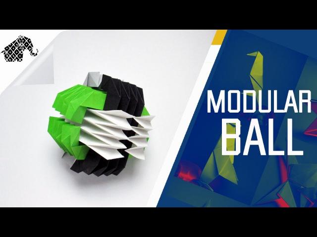 Origami How To Make An Origami Modular Ball Fumiaki Kawahata