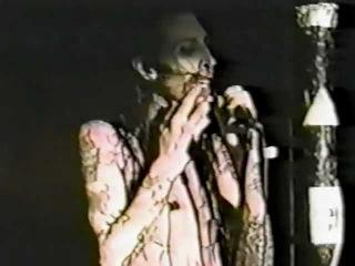 Marilyn Manson   The Backroom, Austin TX 01 14 1995