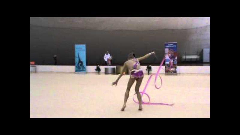 SVS Open 2013 Jelizaveta Nazarenkova RUS Ribbon