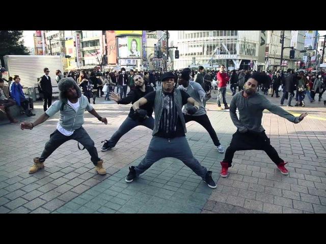 Jiggy Push Back by Elephant Man Version HeyCrew in Tokyo
