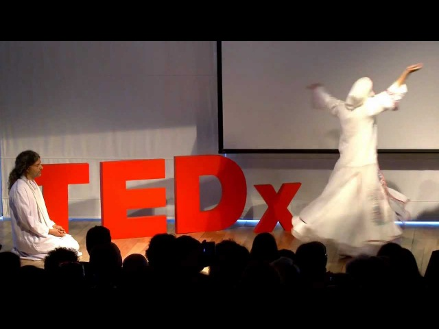 Whirling Dervish The mystical dance of the Sufis Ora and Ihab Balha at TEDxJaffa