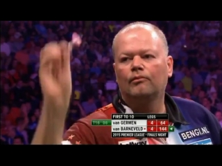 Michael van Gerwen v Raymond van Barneveld (2015 Premier League Darts / Semi Final)