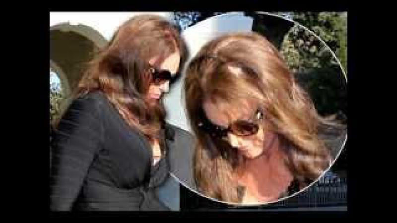 Caitlyn Jenner suffers awkward hair malfunction as she flashes the flesh at Kim Kardashian's birthda
