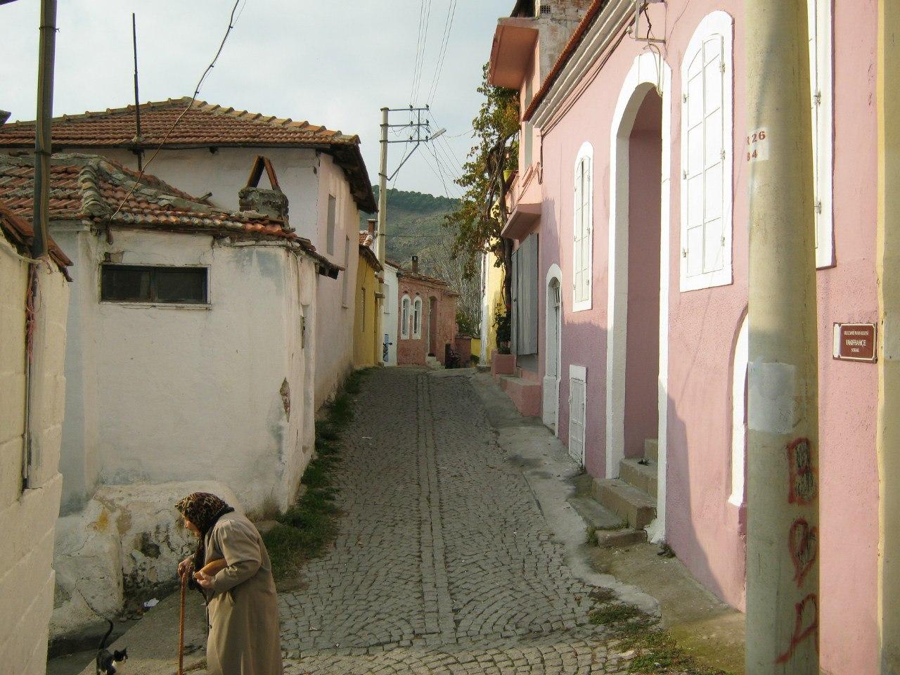 старая часть города Бергама