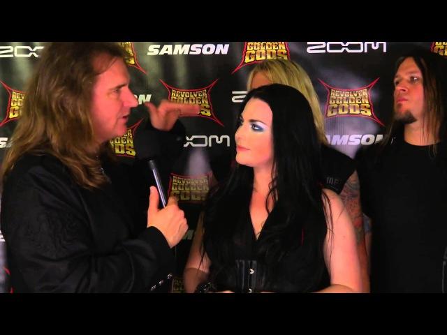 Evanescence David Ellefson Interview Revolver Golden Gods 2012