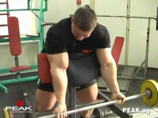 Alexey Lesukov Training Arms 2010 Алексей Лесуков
