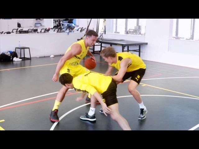 Alba meets BVB Basketball meets Football
