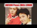 JACKSON Poses With LUHAN After Filming 'RUNNING MAN' Chinese Version Is So Cute