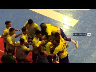 #CopaAmericafutsal - Brasil vs Bolivia - #GrupoA