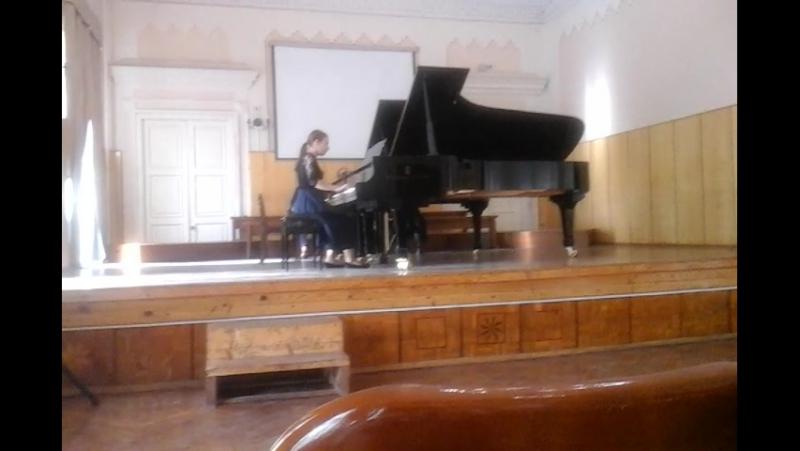 отчетный фортепьянный концерт класс педагога Самарской Н.В.,КМК им.Аухадеева И.В.,часть 1