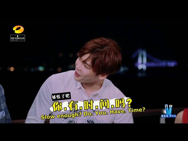 Baidu Lee JongSuk Bar 160123 Happy Camp LeeJongSuk English Caption