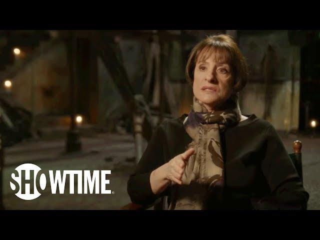 Penny Dreadful Patti Lupone Sam Barnett on Dr Seward Renfield Season 3