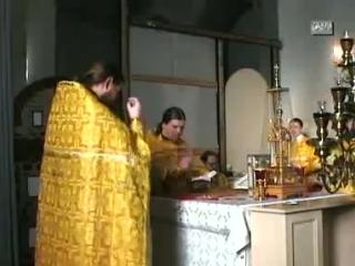 Миссионерская Литургия. Диакон Андрей Кураев.