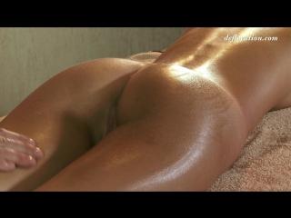 Krystal boyd (anjelica) virgin massage