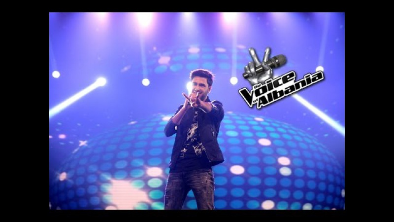 Lorenc Hasrama - Don't you worry child (The Voice of Albania 5 | Netet Live 3)